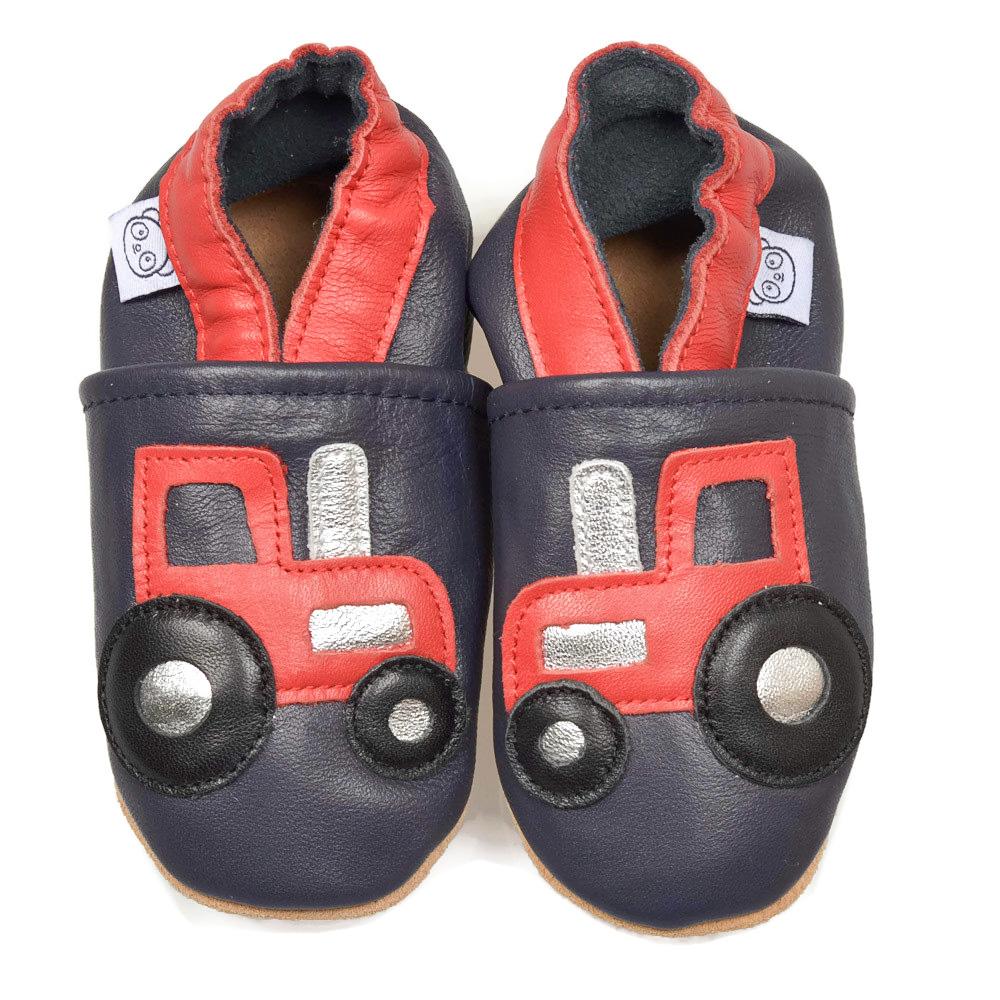 Suaves Zapatos De Cuero Del Bebé Tractor 4-5 años zsFRIZMUUt